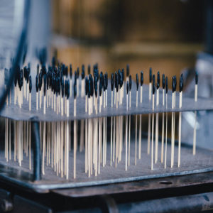 スボ手牡丹の製造